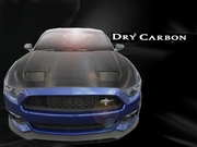 2015-2017 Ford Mustang Carbon Creations DriTech MK7 Look Hood - 1 Piece
