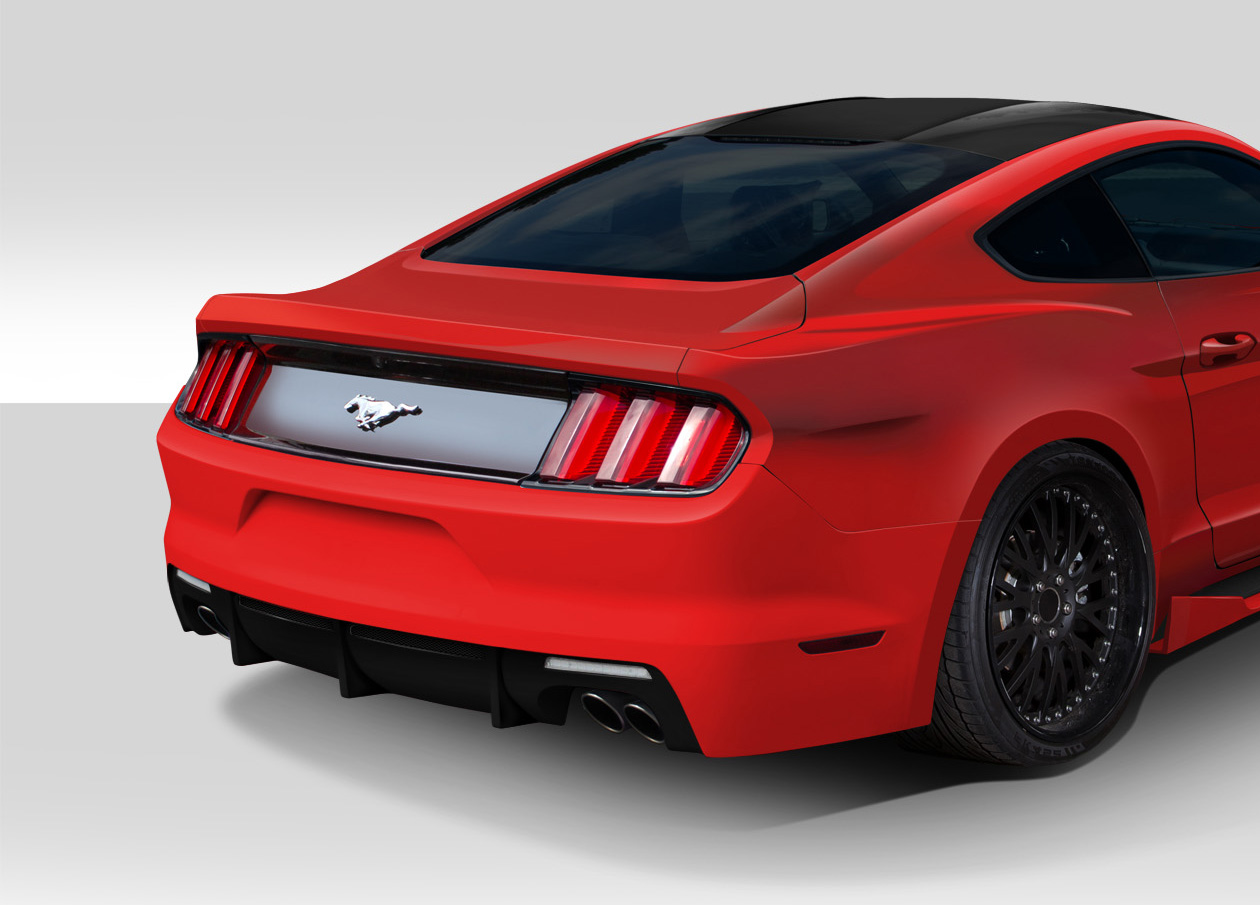 2015-2017 Ford Mustang Grid Wide Body Flares Kit ...