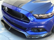 2015-2017 Ford Mustang Type-AR carbon fiber front chin splitter