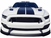 2015-2017 Mustang GT 350 Style Mustang fiberglass front bumper with front lip