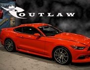 2015-2017  Mustang Outlaw Side Rockers Ground Effects
