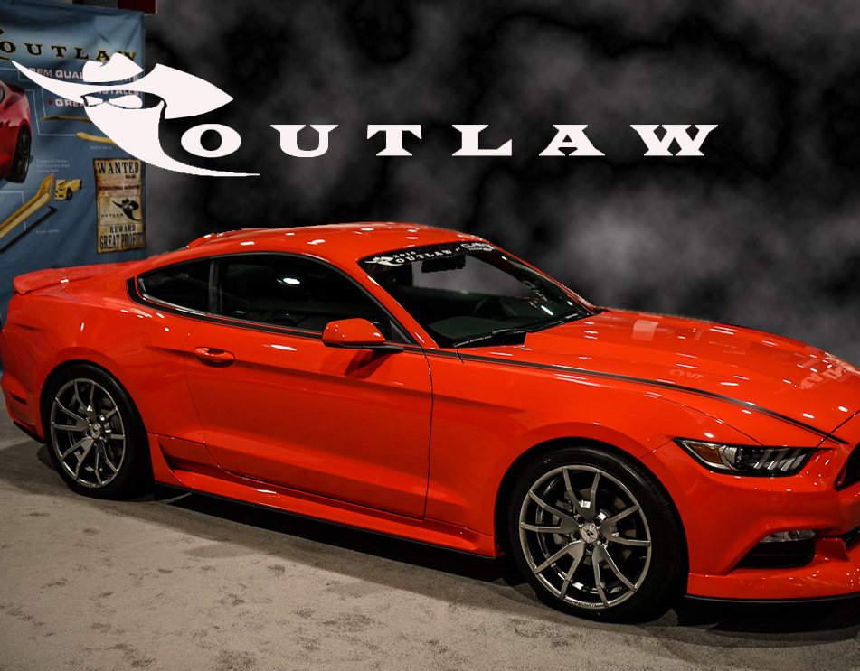 2015 2017 Mustang Outlaw Side Rockers Ground Effects