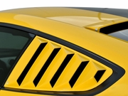 2015-2017 Mustang Quarter Window Louvers