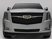 2015-2018 Cadillac Escalade T-REX 51189 Upper Class Main Grille Replacement  Black w/ Brushed Center Trim
