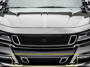 2015-2017 Charger DJ24801 DJ Series Strada Lower Bumper Grille Overlay Black Powder Coated