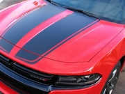2015-2019 Charger Rally Stripes Graphic Kit