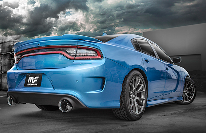 2015 2017 charger srt 392 magnaflow cat back exhaust 19229. Black Bedroom Furniture Sets. Home Design Ideas