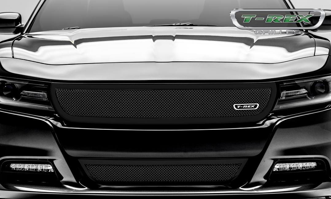 2015 2017 Charger Upper Class Black Main Grille 51480 By Trex