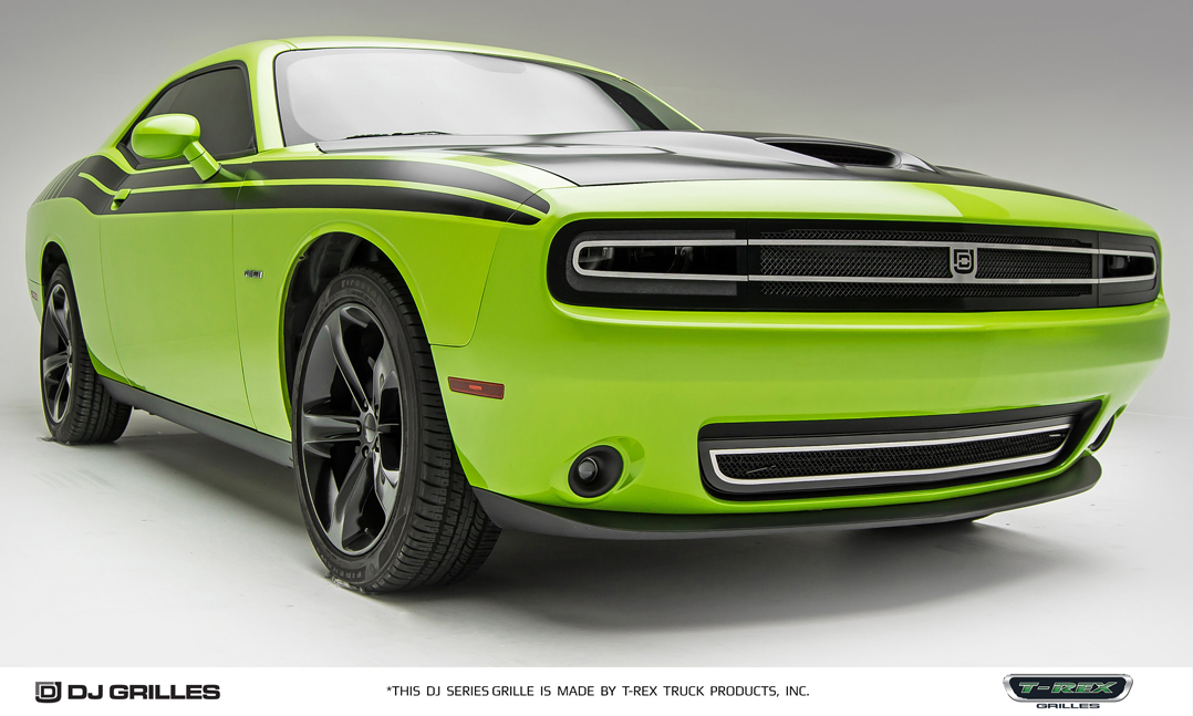 Challenger Scat Pack >> 2015-2017 Dodge Challenger Phantom Style Lower Grille DJ24191 by Trex