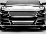 2015-2017 Dodge Charger Polished Stainless Main Grille 54480 by Trex