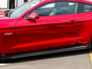 2015-2017 Ford Mustang 100% Carbon Fiber Sigala Side Extensions
