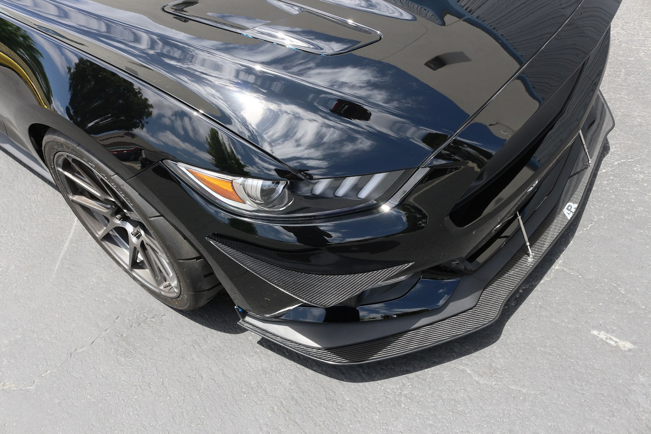 2018 Roush Mustang >> 2015-2017 Ford Mustang New APR Carbon Fiber Front Splitter CW-201522 CW-201510