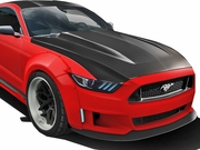 2015-2017 Ford Mustang Carbon Creations Cowl Hood 112583