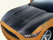 2015-2017 Ford Mustang Carbon Creations GT350 Look Hood 112734