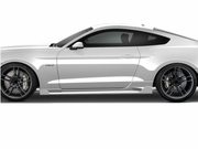 2015-2019 Ford Mustang Duraflex Racer Side Skirts