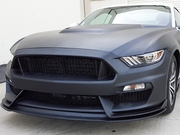 2015-2017 GT 350 Style Mustang fiberglass front bumper with front lip