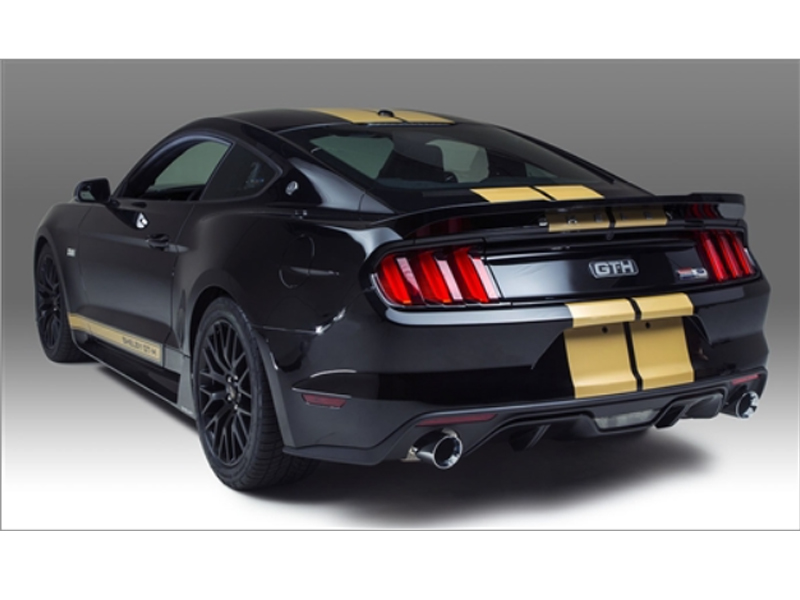 Mustang Shelby Gt H Rear Spoiler