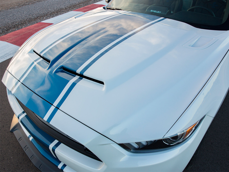 Mustang Shelby Supersnake Hood