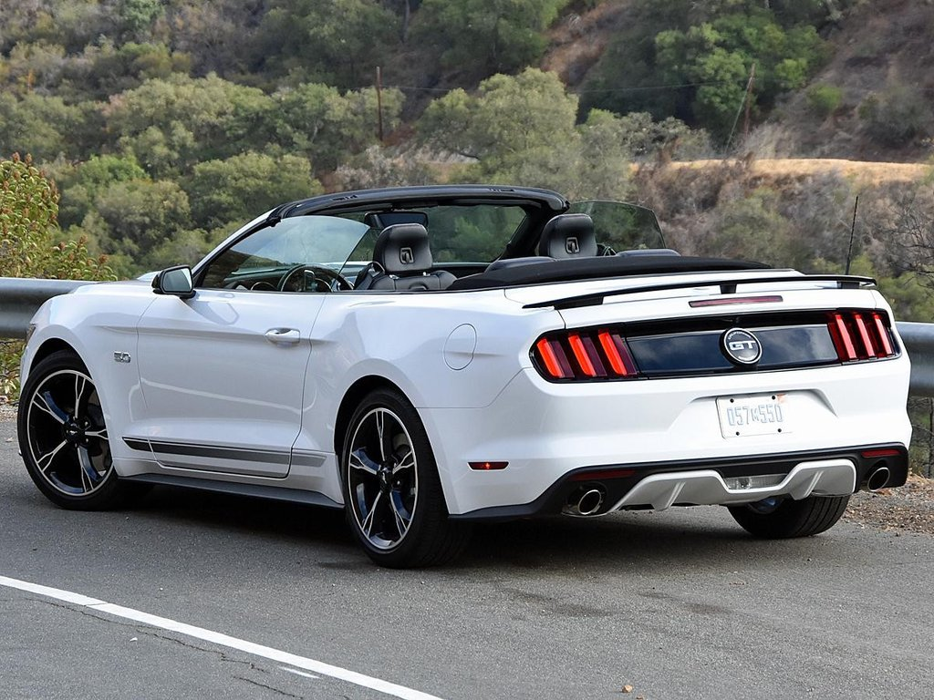 2015 2019 mustang california special styled convertible spoiler. Black Bedroom Furniture Sets. Home Design Ideas