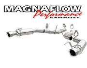 "2015 Fastback GT 2015 MagnaFlow Axle-Back Exhaust Kit 3"" Competition Series Stainless Steel With 4-1/2"" Tips"