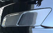 2015-2017 Mustang OE Style Hood Vents 100% Carbon Fiber