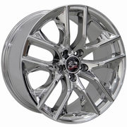 2015-2019 Mustang� Wheel - PVD Chrome 18x9 Wheel