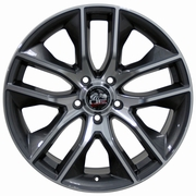 2015 Mustang� Wheels - Gunmetal Machined Face 18x9 - SET