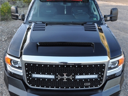 RKSport 2015-2017 GMC Sierra 2500/3500 HD Ram Air Hood 35016050