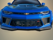 2016-2018 Camaro Carbon Creations DriTech Grid Front Bumper Air Duct Extensions Add Ons - 2 Piece