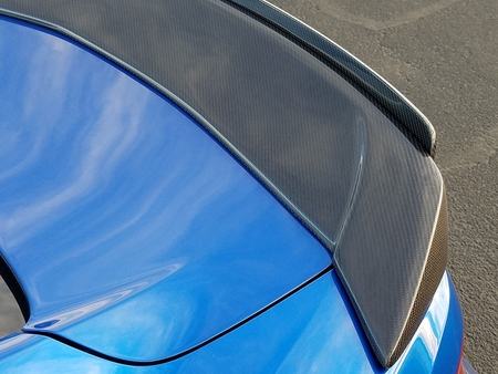 2016-2021 Camaro Carbon Fiber Spoiler Type-ST w/ Adjustable Wicker Bill