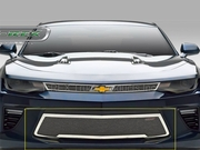 2016-2018 Camaro SS Upper Class Bumper Grille Overlay  Polished Stainless Steel  55036