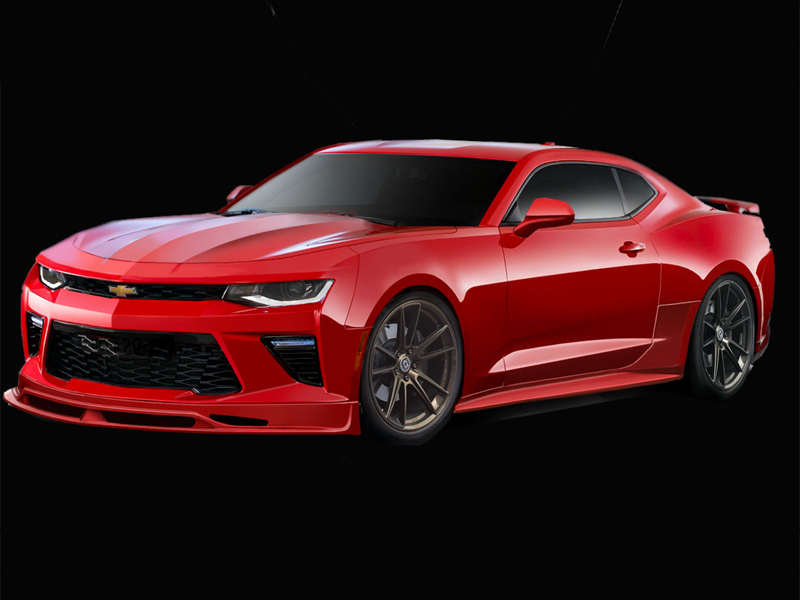 2016 2018 chevrolet camaro v8 racer 113288 body kit duraflex. Black Bedroom Furniture Sets. Home Design Ideas
