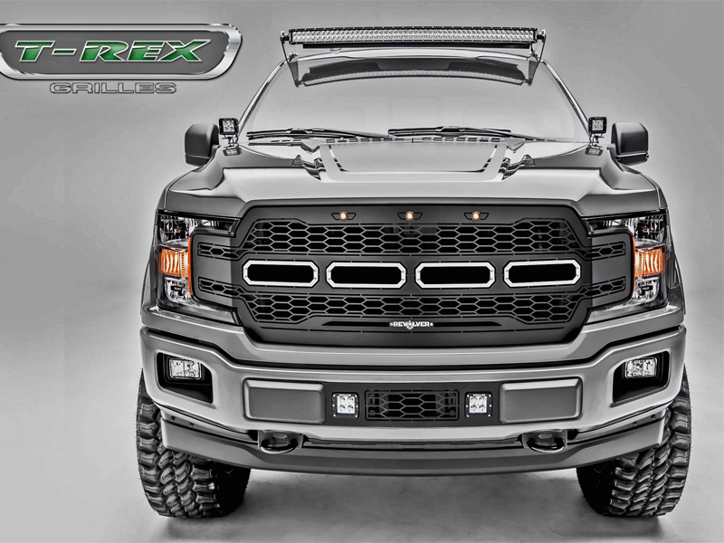 2018-2019 Ford F-150 Revolver Series Main Grill Replacement