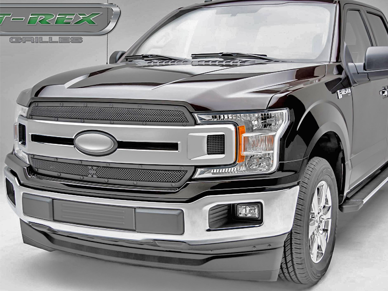 2018-2019 Ford F-150 X-METAL STEALTH Series 2 Piece Overlay / Insert ...