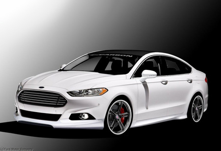 3d Carbon Ford Fusion Complete Body Kit 2013 2016