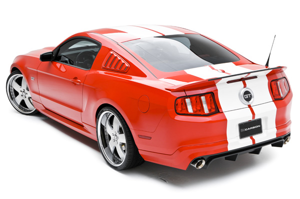 3d Carbon Ford Mustang 3d500 Rear Spoiler 2010 2014 691604