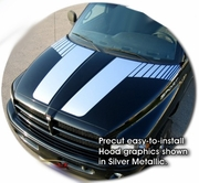 1994-2001 Dodge Ram Truck Hood Stripes Graphic Kit