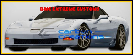 97-04 Chevrolet Corvette C5 ZR Widebody 10pc Body Kit