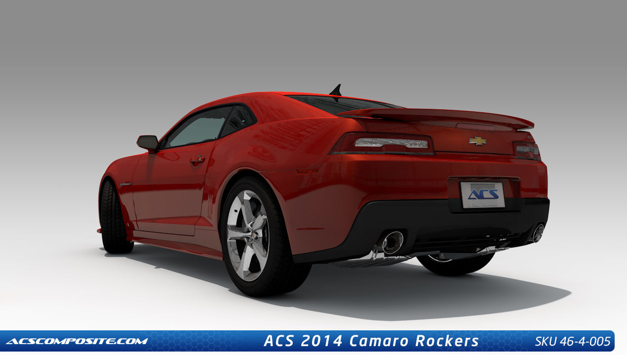 Acs Chevrolet Camaro Side Rockers 2014 2015 46 4 005