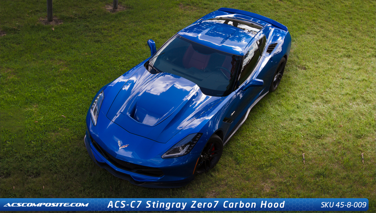 Acs Chevrolet Corvette C7 Stingray Zero7 Hood 45 8 009
