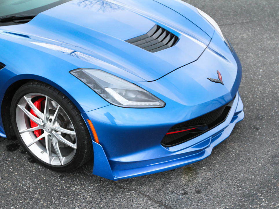 2014-2019 Corvette C7 Bodykits Ground Effects Skirts