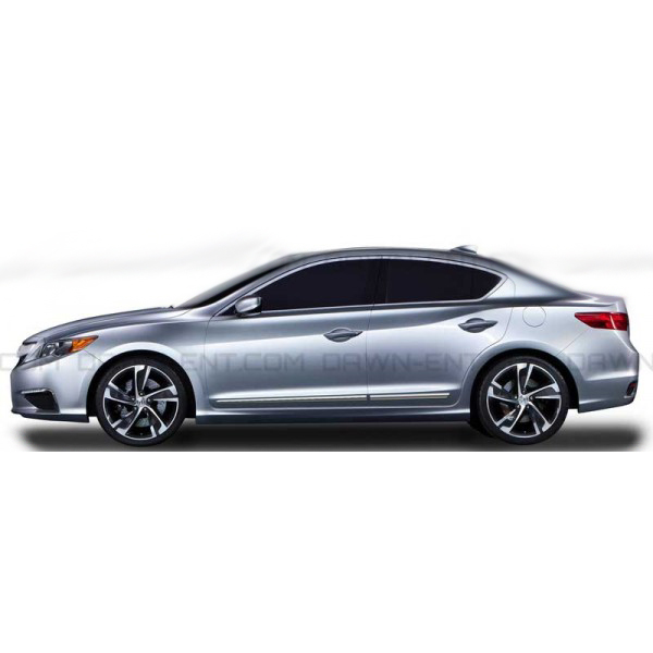 2013-2018 Acura ILX Chrome Body Side Molding LCM-ILX13
