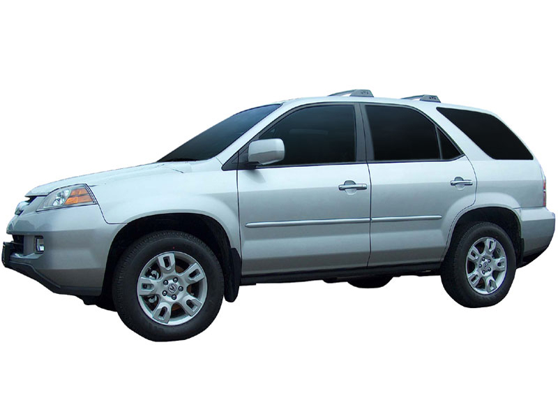 Acura Mdx Body Side Moldings Accessories