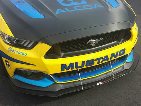 APR 2015-2017 Mustang Front Carbon Fiber Splitter CW-201510 (w/ Performance Package)