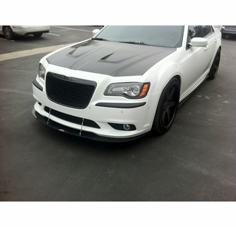 apr chrysler 300c srt8 front bumper splitter 2011 2014. Black Bedroom Furniture Sets. Home Design Ideas