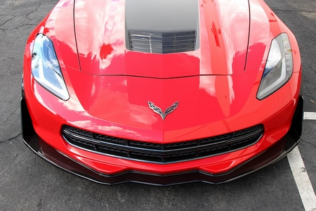 APR Corvette C7 Track Pack Front Air Dam Splitter 2014-2017