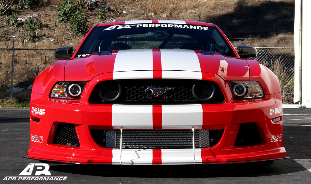Apr Ford Mustang Wide Body Kit 2013 2014 Aprmstng Wbk