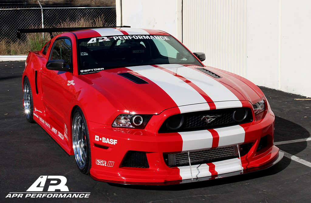 Apr Ford Mustang Wide Body Kit 2013 2014 Aprmstng Wbk HD Wallpapers Download free images and photos [musssic.tk]