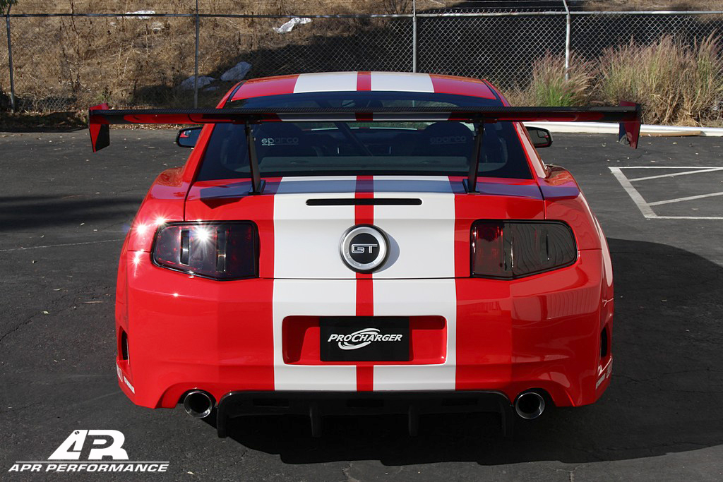 2014 ford mustang apr wide body kit autos post. Black Bedroom Furniture Sets. Home Design Ideas