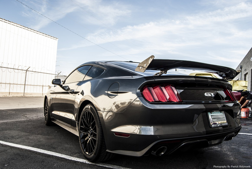Apr As 105957 Mustang Drag Rear Carbon Fiber Spoiler 2015 2019